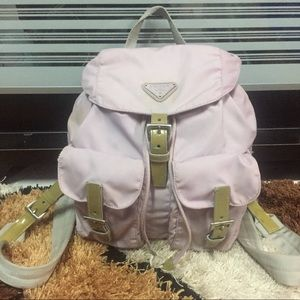 Auth PRADA Mini Vela Ian Conner Nylon Backpack 🎒